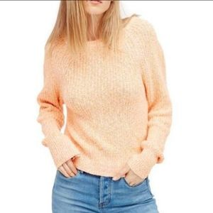 FREE PEOPLE Electric City Pullover Sweater Large